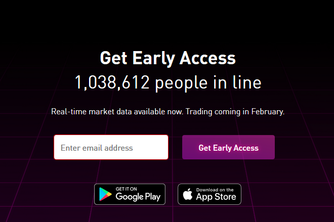 Over 1 Million People in Line for Robinhood's Bitcoin Trading App