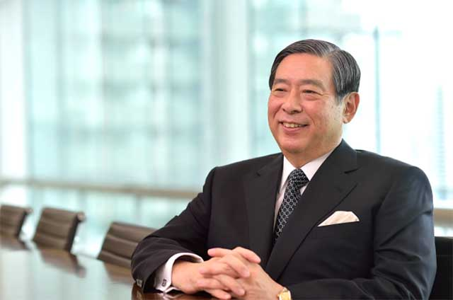 Yoshitaka Kitao, CEO and Executive Chairman of SBI Holdings