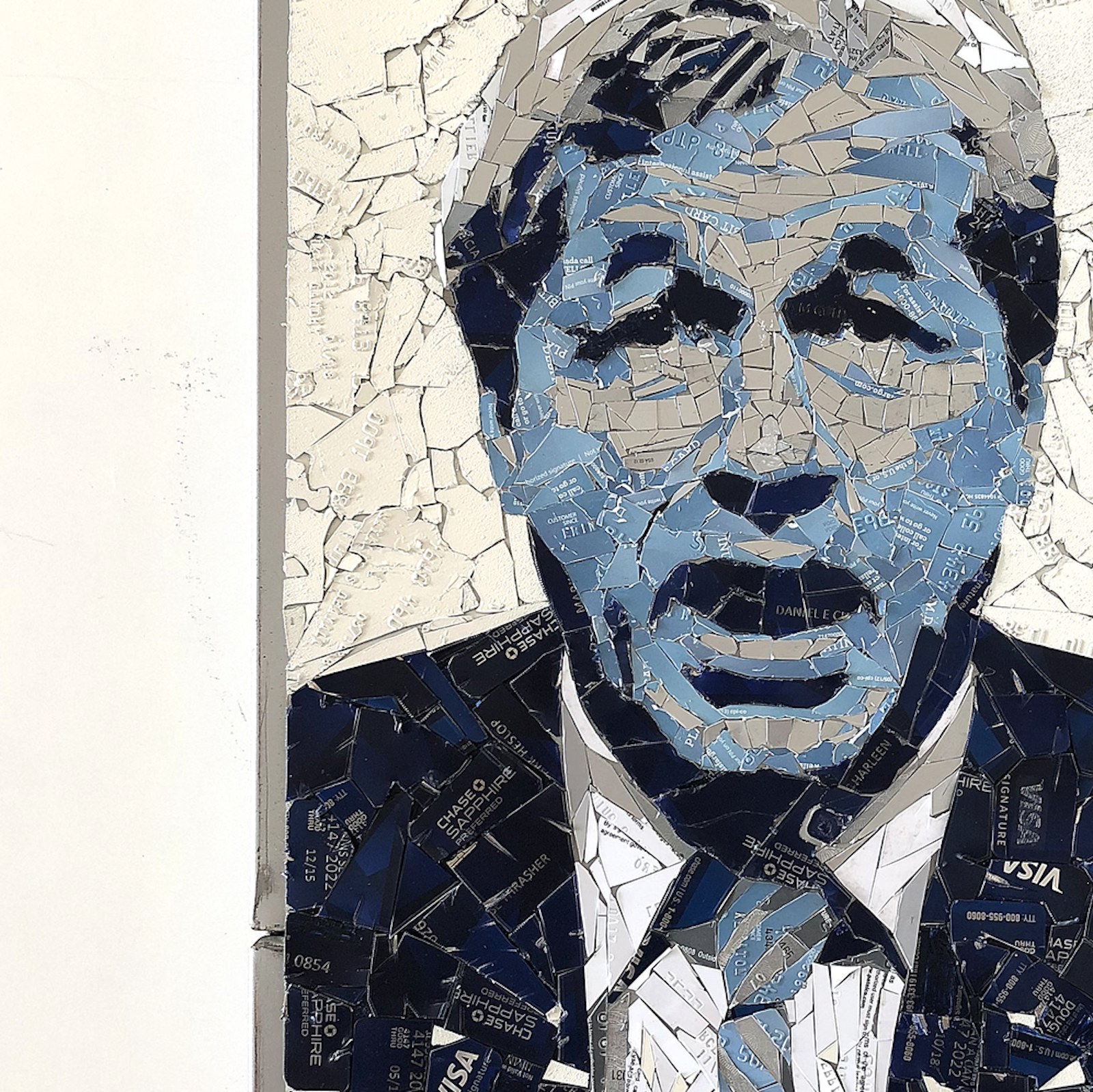 You Can Now Bid for Jamie Dimon Crypto Art Made From Old Credit Cards