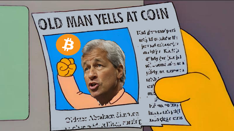 JP Morgan Chase Fears Crypto is Disruptive Competition