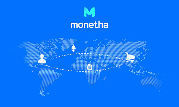 Ethereum blockchain based mobile payment processing company Monetha