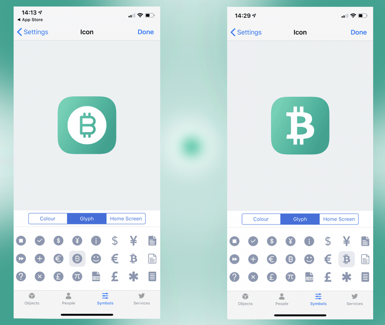 Bitcoin Glyphs Added to Apple's Shortcuts Application | Club