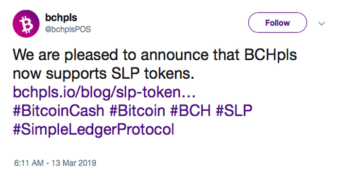 Bchpls.io Platform and a Telegram Tip Bot Now Support SLP Tokens