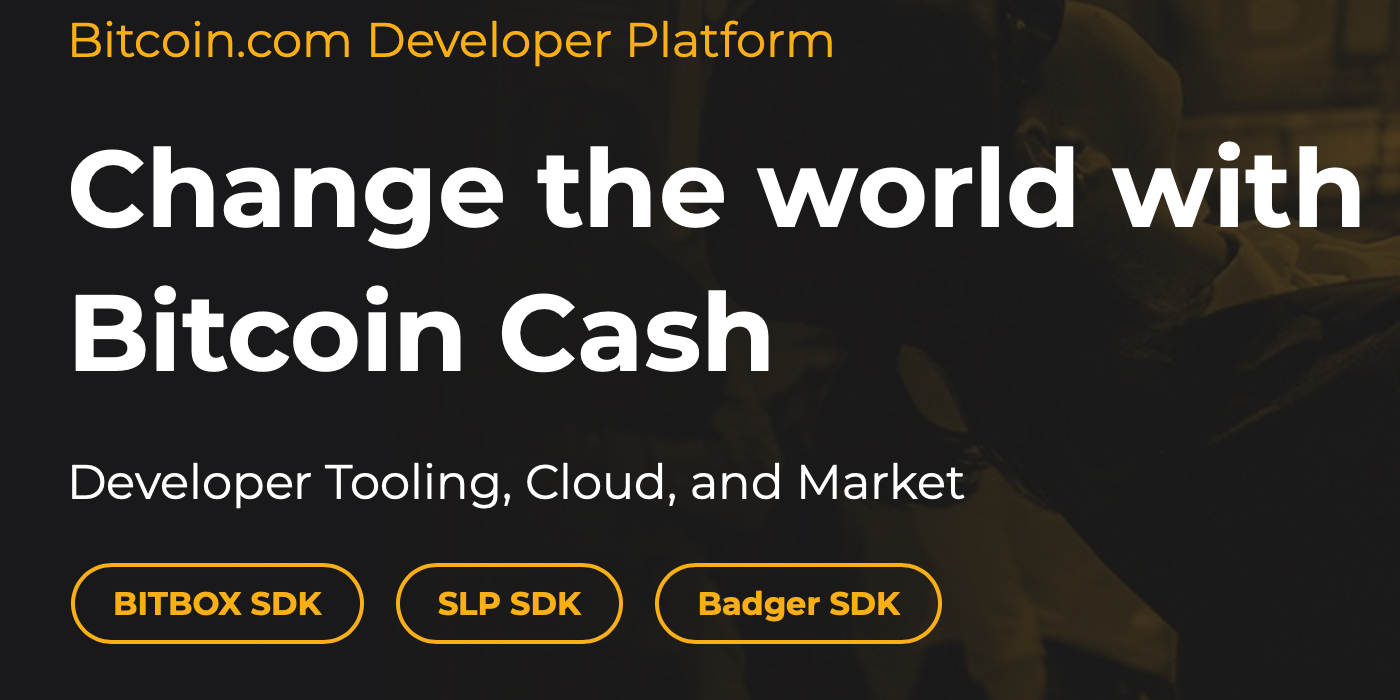 Supercharge Your BCH Workflow With Bitcoin.com's SLP and Badger SDKs