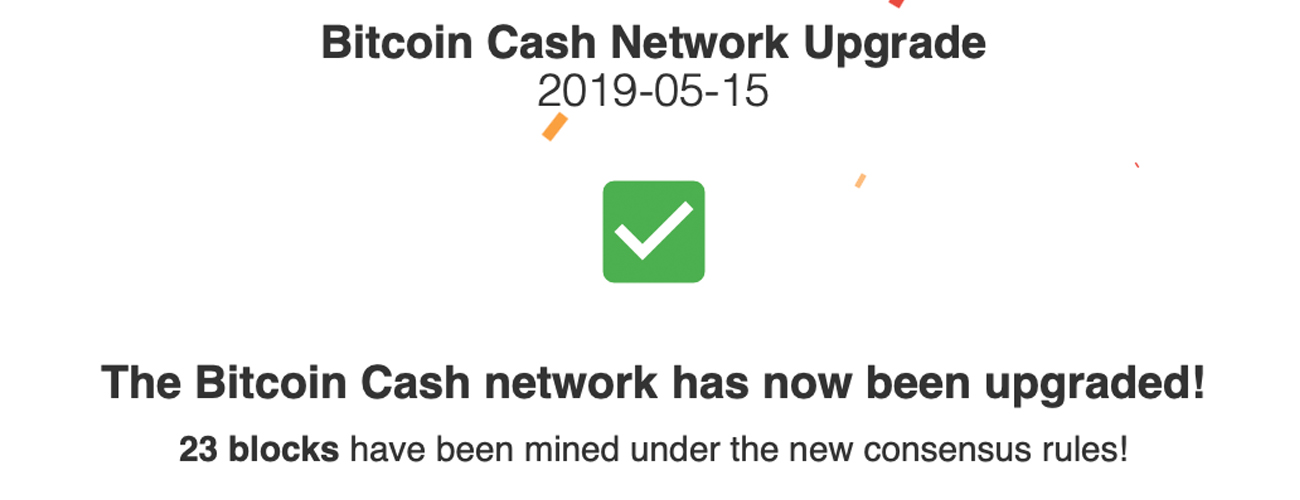 Bitcoin Cash Protocol Successfully Upgrades — Schnorr Signatures Are Here