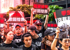 Bitcoin Trades for a Premium in Hong Kong During Protests