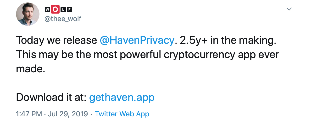 Testing Haven, OB1's New Social Media and Crypto Marketplace App