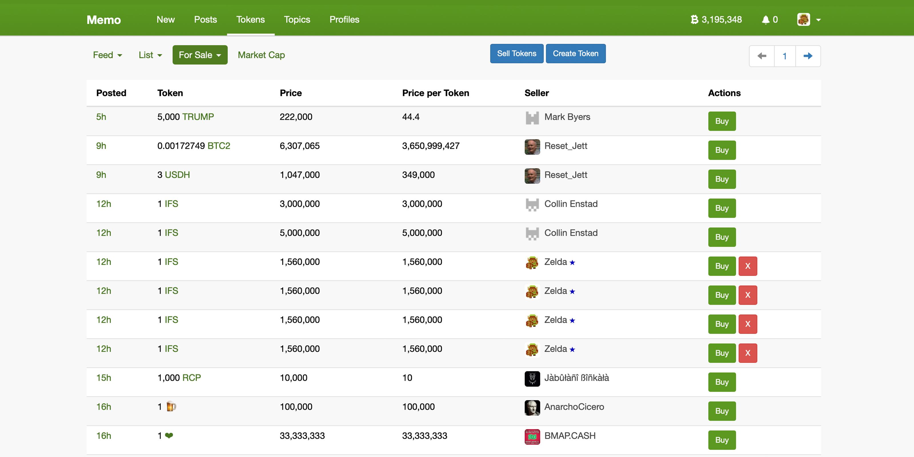 Social Network Memo Adds Decentralized SLP Token Exchange