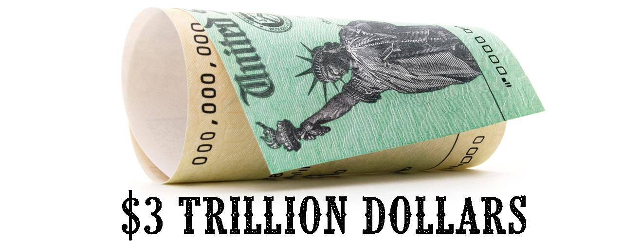 US Treasury to 'Borrow' $3 Trillion for a Single Quarter - Anticipates Taking Billions More for Q3