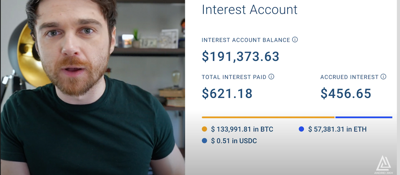 Renowned Finance Youtuber Andrei Jikh Invests Over $100K Into Cryptocurrencies