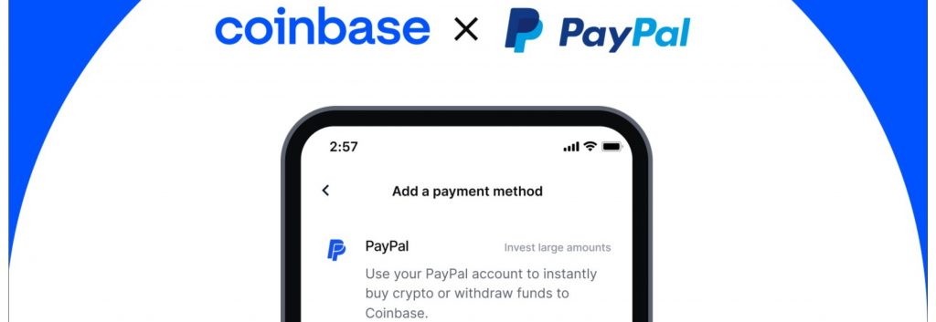 Coinbase Now Allows Millions of Customers to Buy Cryptocurrencies With Paypal