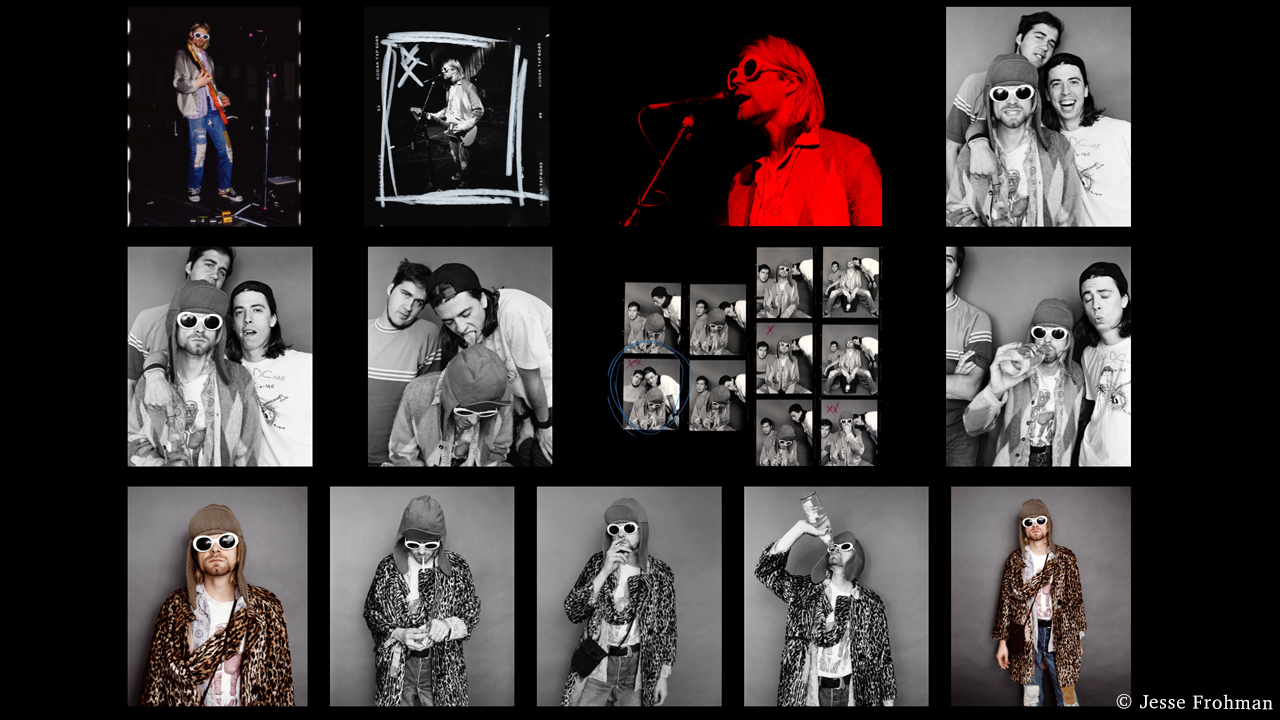 Never-Before-Seen Pictures of Kurt Cobain's Iconic Photoshoot to Be Sold a NFTs